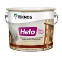 Teknos Helo 15 Матовый лак по дереву для ответственных работ внутри и снаружи помещений