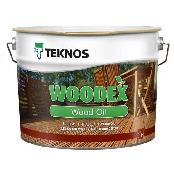 Teknos Woodex Wood Oil Пропиточное и высыхающее масло на растворителе для наружных работ