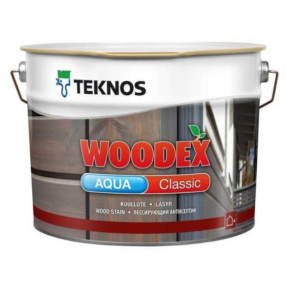 Teknos Woodex Aqua Classic антисептик на масляной основе для наружной окраски деревянных поверхностей