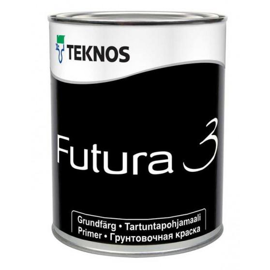 Teknos Futura 3 Матовая, алкидная, грунтовочная краска общего применения