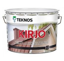 Teknos Kirjo краска на алкидной основе с антикоррозионными пигментами для крыш из листового металла