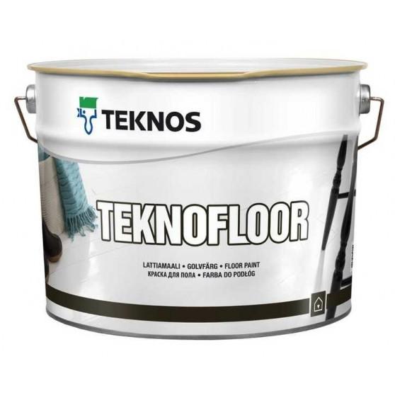 Teknos Teknofloor Глянцевая краска для бетонных и деревянных полов