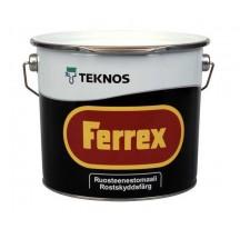 Teknos Ferrex Активизированная полипигментная антикоррозионная краска на масляно-алкидной основе