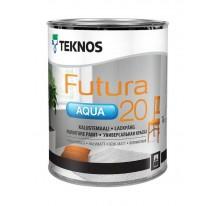 Teknos Futura Aqua 20 Водоразбавляемая полуматовая краска для мебели и элементов интерьера
