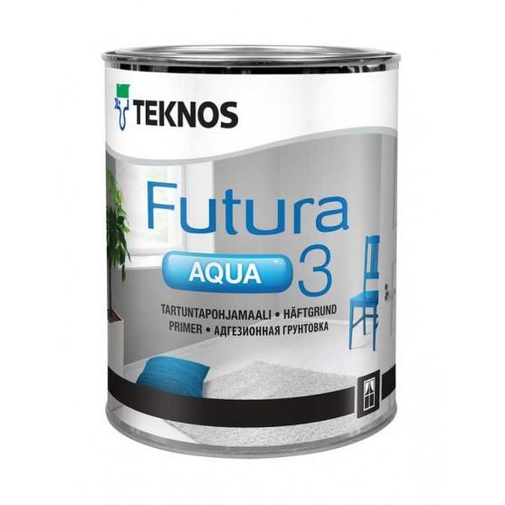 Teknos Futura Aqua 3 алкидная адгезионная грунтовочная краска