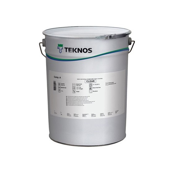 Teknos Teknol 2881 Clean White Грунтовочная краска на алкидно-акриловой основе