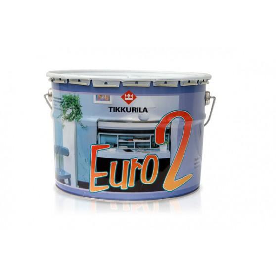 Finncolor Euro 2 Глубоко матовая латексная краска на основе акрилового сополимера
