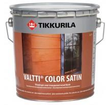Tikkurila Valtti Color Satin Лессирующий антисептик для обработки наружных деревянных поверхностей
