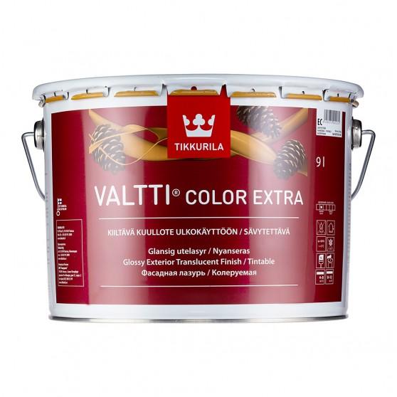 Tikkurila Valtti Color Extra колеруемая фасадная лазурь на масляной основе