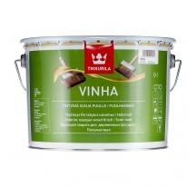 Tikkurila Vinha Полуматовый кроющий антисептик для наружных деревянных поверхностей