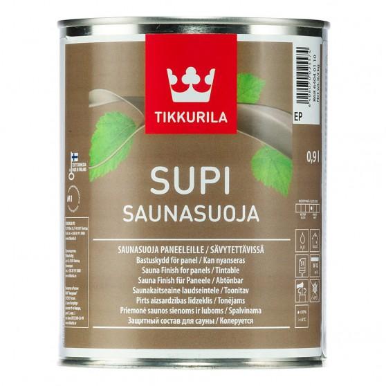 Tikkurila Supi Saunasuoja акрилатный защитный состав для обработки стен и потолков во влажных помещениях