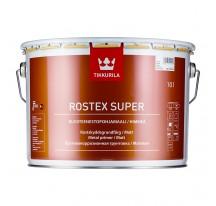 Tikkurila Rostex Super Противокоррозионная грунтовка быстрого высыхания.