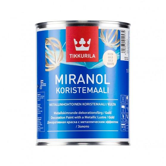 Tikkurila Miranol Koristemaali Алкидная краска для внутренних декоративных работ.