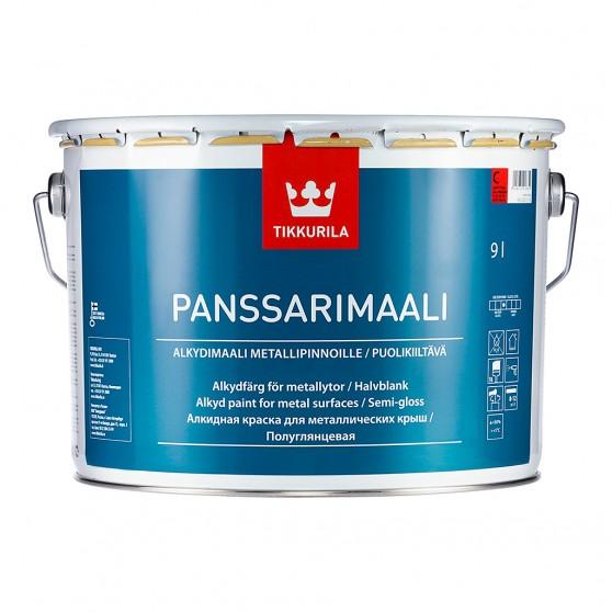 Tikkurila Panssarimaali алкидная краска для металлических крыш и наружных металлоконструкций