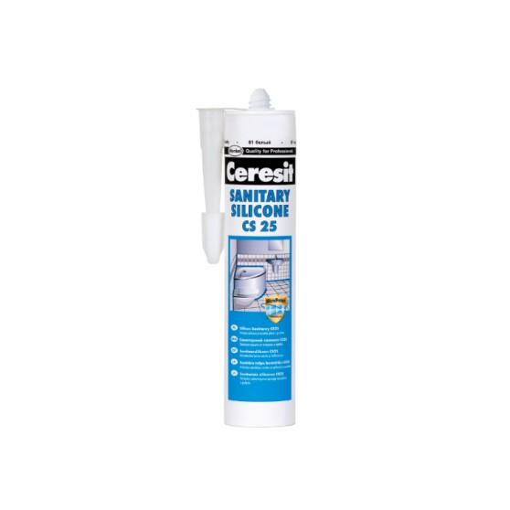 Ceresit CS 25 Силиконовая затирка-герметик