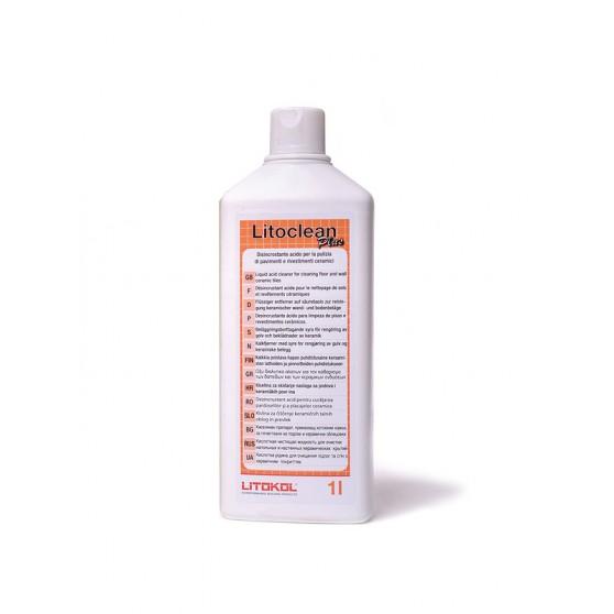 Litokol Litoclean Plus Жидкое очищающие средство на основе кислоты.