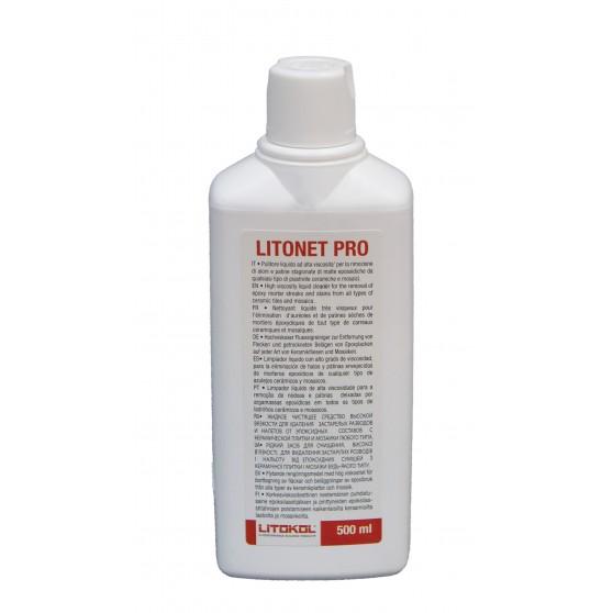 Litokol Litonet Pro очиститель для выведения пятен и разводов от эпоксидных затирок