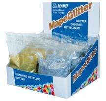 Mapei Mapeglitter Металлизированный цветной блеск.