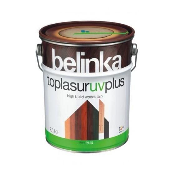 Belinka Toplasur UV Plus Бесцветное лазурное покрытие с уф-фильтрами и абсорбентами для защиты древесины