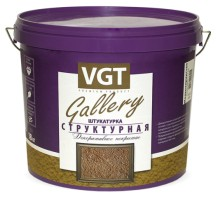 Декоративная штукатурка VGT Gallery структурная