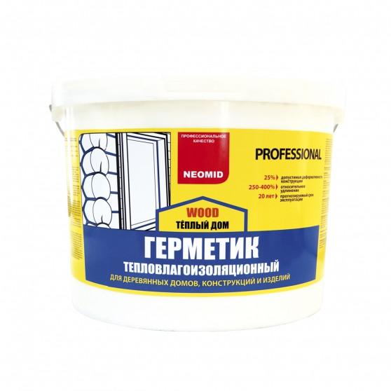 Герметик строительный Neomid Теплый Дом Wood Professional
