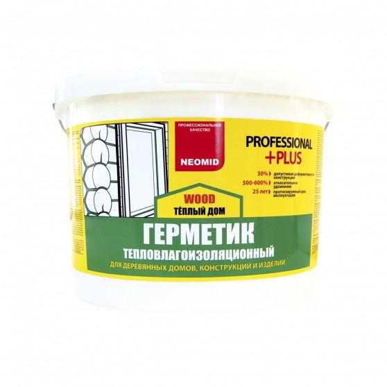 Герметик строительный Neomid Теплый Дом Wood Professional Plus