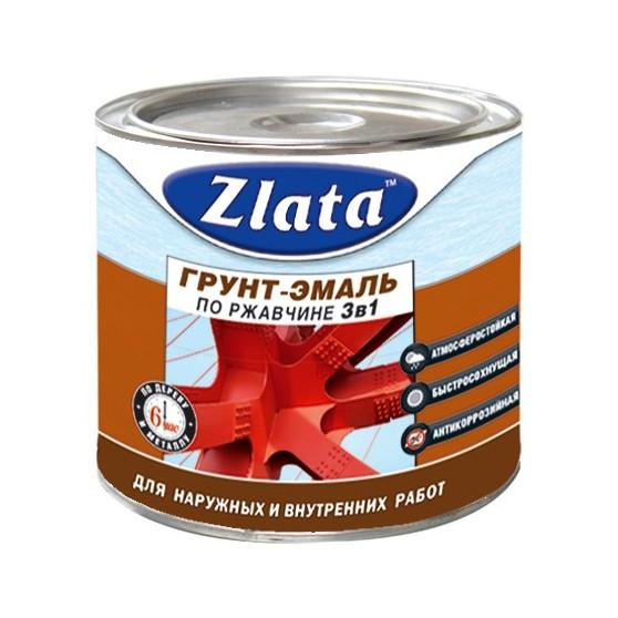 "Грунт Эмаль ""Zlata"" по ржавчине"