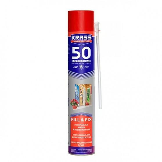 Krass Home Edition 50 STANDARD / Красс Монтажная пена универсальная