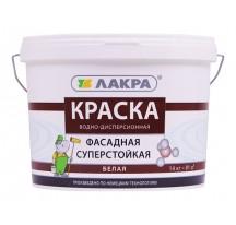 ЛАКРА Краска фасадная Белая