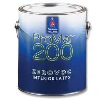 Sherwin Williams ProMar 200 Interior Latex Flat Low Voc / Шервин Вильямс Краска интерьерная