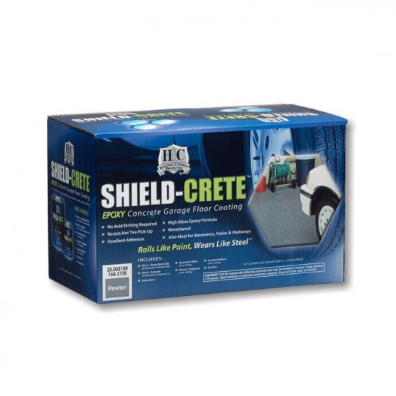 Sherwin Williams H&C Shield-Crete Epoxy Concrete Garage / Шервин Вильямс Краска для пола в гараже