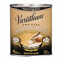 Varathane Stain & Polyurethane Лак тонирующий полиуретановый на масляной основе