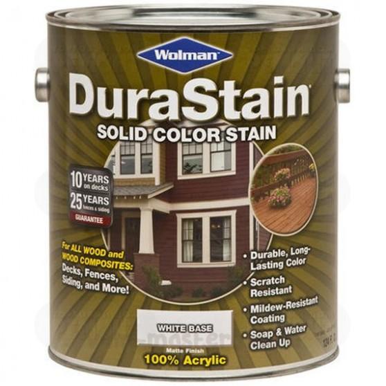 Wolman DuraStain Solid