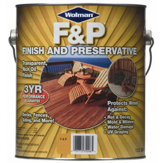 Wolman F&P Finish And Preservative