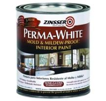Zinsser Perma-White Краска для внутренних работ, самогрунтующаяся