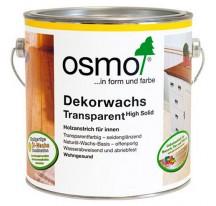 Osmo Decorwachs Transparent цветное масло для дерева