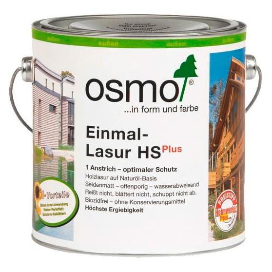 Osmo Einmal-Lasur HS Plus однослойная лазурь для дерева