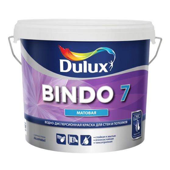 Dulux Bindo 7 Матовая краска для стен и потолков