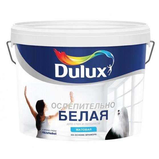 Dulux Ослепительно Белая Водно-дисперсионная краска для стен и потолков