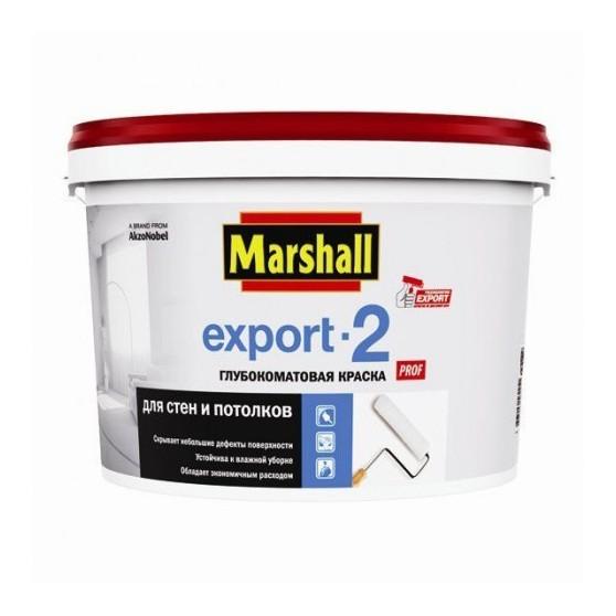 Marshall Export 2 краска одоэмульсионная латексная для стен и потолка глубокоматовая