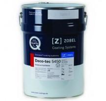 Zobel Deco-tec 5450 кроющая погодоустойчивая краска для древесины