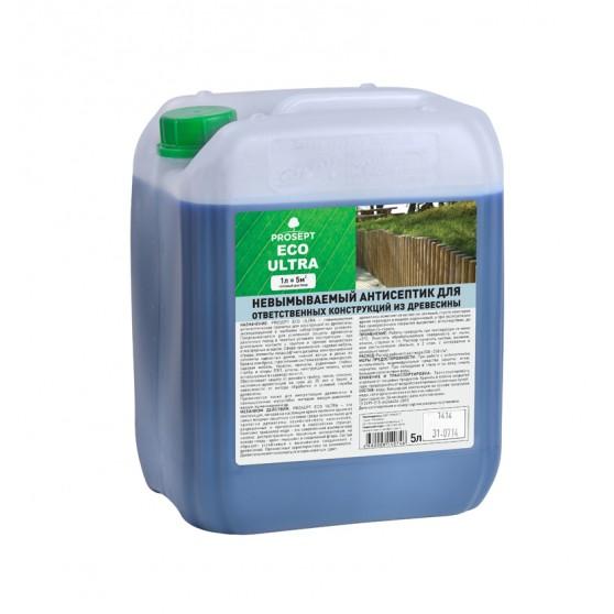 Prosept Eco Ultra невымываемый антисептик для внутренних и наружных работ