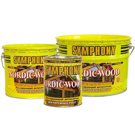 Symphony Nordic-Wood лессирующий антисептик на основе льняного масла