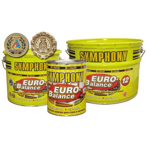 Symphony Euro-Balance 12 акрилатная полуматовая краска