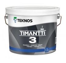 Teknos Timantti 3 Водоразбавляемая совершенно матовая грунтовочная краска