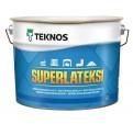 Teknos Superlateksi Специальная матовая интерьерная краска