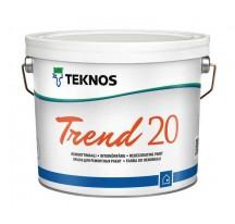 Teknos Trend 20 Водоразбавляемая полуматовая ремонтная краска