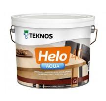 Teknos Helo Aqua 40 Водоразбавляемый полуглянцевый лак для деревянных поверхностей внутри и снаружи помещений