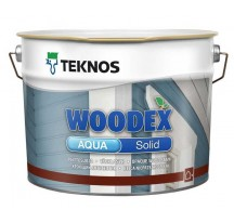 Teknos Woodex Aqua Solid Водоразбавляемый покрывной антисептик на акрилатно-алкидной основе для наружной окраски древисины