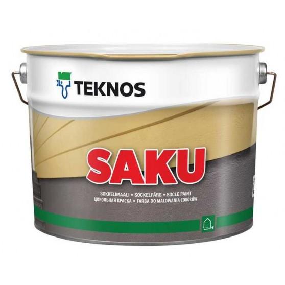Teknos Saku Водно-дисперсионная краска для бетонных поверхностей